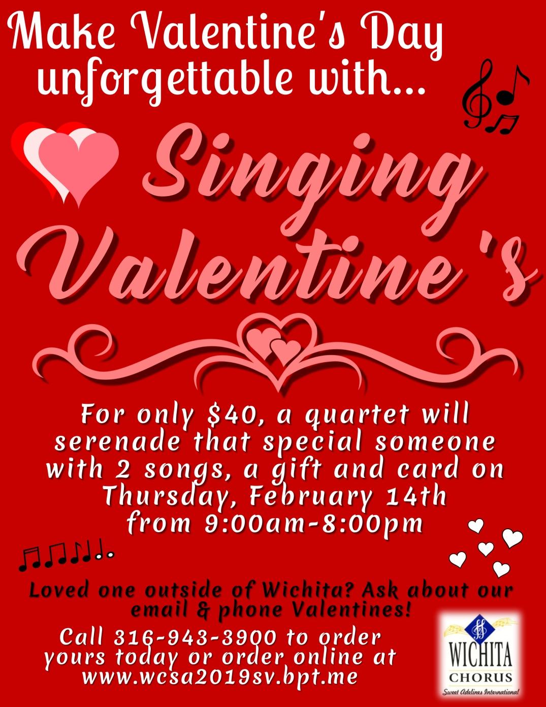 2019 Singing Valentine